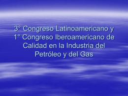 Congreso Iberoamericano de Calidad en la Industria del