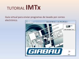 tutorial envio programas
