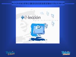 e-leccion presentacion Cordoba