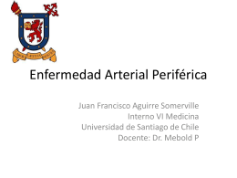 Aterosclerosis de Extremidades