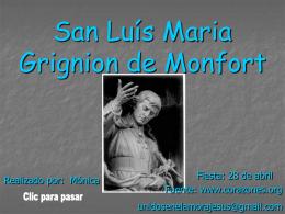 San Luis Maria Grignion de Monfort