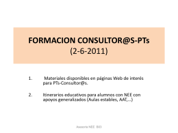 FORMACION CONSULTOR@S-PTs (2-6