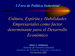 III Congreso Nacional PYME