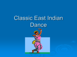 Classic East Indian Dance - East Irondequoit Central
