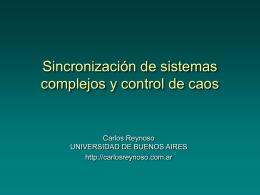 Sistemas complejos y acciones entre sistemas La