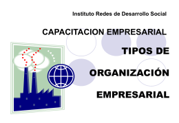 Instituto Red Social de Desarrollo MODULO b) …