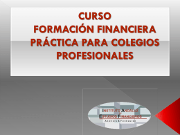 INSTITUTO ANDALUZ DE ESTUDIOS FINANCIEROS
