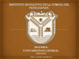 INSTITUTO EDUCATIVO DE LA CUENCA DEL PAPALOAPAN.
