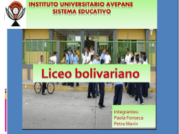 Instituto universitario AVEPANE Sistema Educativo
