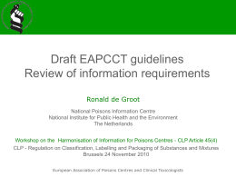EAPCCT guideline - European Commission