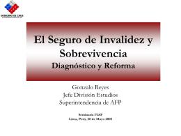 Proyecto de Ley Reforma Previsional. Aspectos …