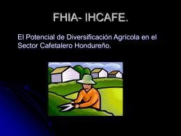 FHIA- IHCAFE.