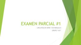 EXAMEN PARCIAL #1