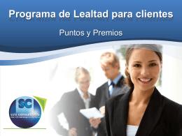 Programa de Lealtadparaclientes