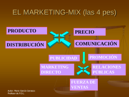 EL MARKETING-MIX
