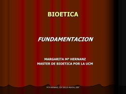 ETICA-Fundamentaciones modernas