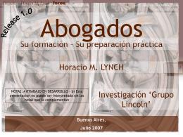 Diapositiva 1 - Lynch & Asociados