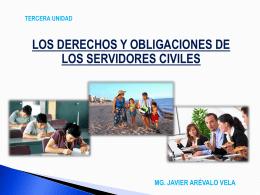 2.- LOS DERECHOS INDIVIDUALES DE LOS SERVIDORES …