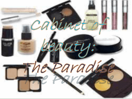 Cabinet of beauty