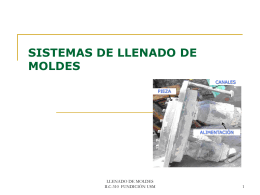 LLENADO DE MOLDES - RAMOS ON