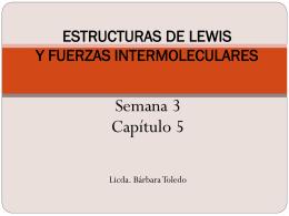 ESTRUCTUAS DE LEWIS