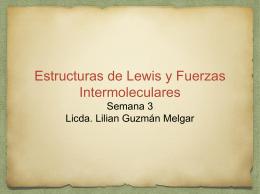 Estructuras de lewis y Fuerzas Intermoleculares