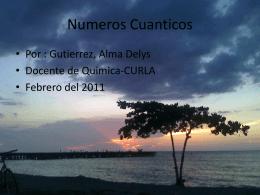 Numerous cuanticos