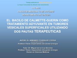Monografias : El Bacilo de Calmette