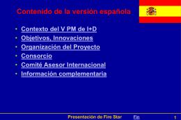 Fire Star - Presentation