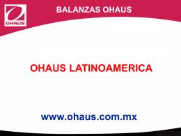 Ohaus_Presentacion_Balanzas_Ohaus