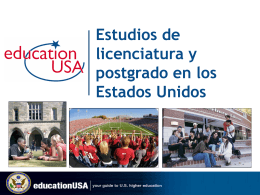 EducationUSA & US Colleges and Universities