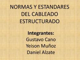 NORMAS Y ESTANDARES DEL CABLEADO …