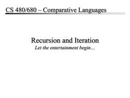 CS790 – Introduction to Bioinformatics
