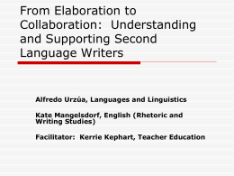 From Elaboration to Collaboration: Understanding and