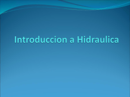 Introduccion a Hidraulica