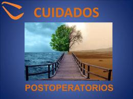 CUIDADAOS POSOPERATORIOS