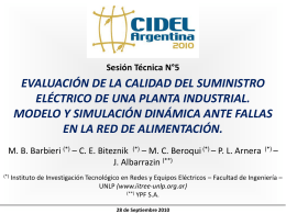 Diapositiva 1 - :: CIDEL ARGENTINA 2010