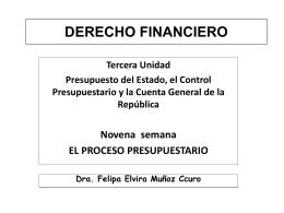 PRIMERA UNIDAD - Facultad de Derecho