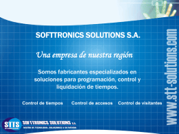 Softtronics Solutions S.A.