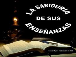 Diapositiva 1 - Ministerio Maranata