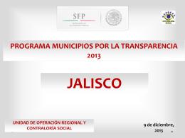 MUNICIPIOS POR LA TRANSPARENCIA Informe de …