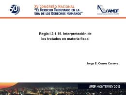 Diapositiva 1 - ACADEMIA MEXICANA DE DERECHO FISCAL