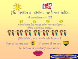 HAPPY HOUR - Web de la Iglesia de Cristo en Sevilla