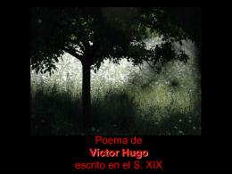Te deseo, escrito por Victor Hugo