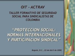 VIABILIDAD DEL SISTEMA DE SEGURIDAD SOCIAL INTEGRAL