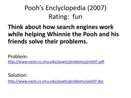 Pooh's Enclyclopedia (2007)