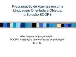 JEOPS - Uma ferramenta para o desenvolvimento de