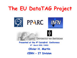 DataGrid conference (Paris)