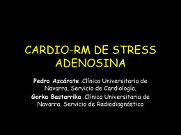 CARDIO-RM DE STRESS ADENOSINA