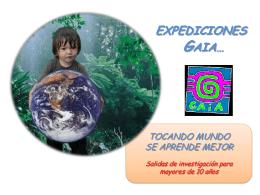 Diapositiva 1 - wikigaiaexpediciones